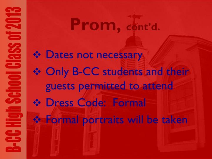 Prom,
