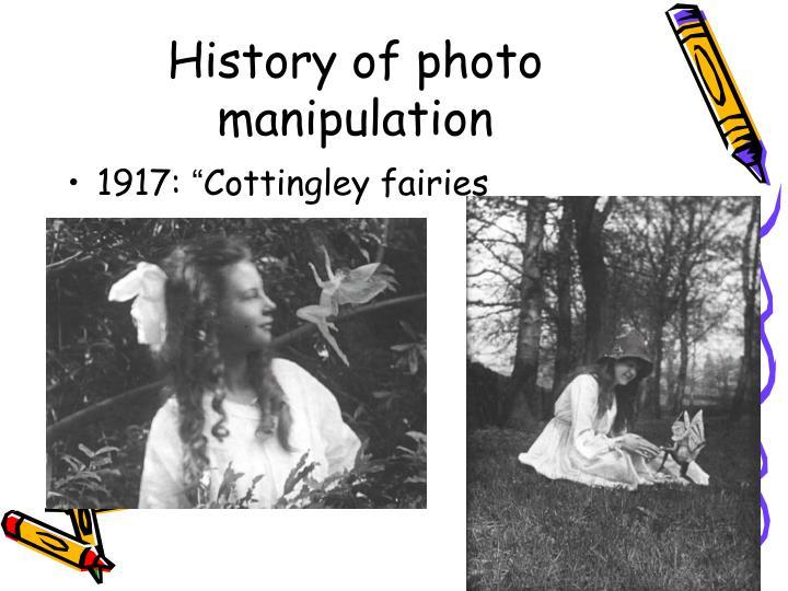 History of photo manipulation1