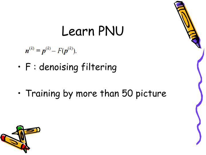 Learn PNU