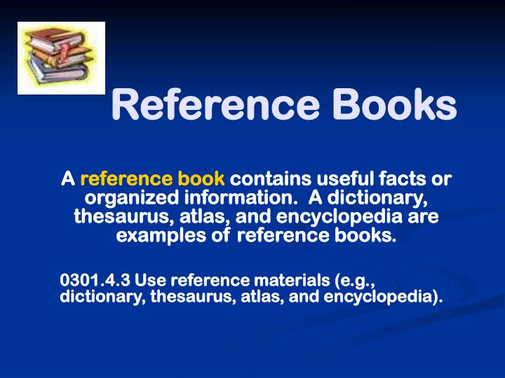 reference books n.