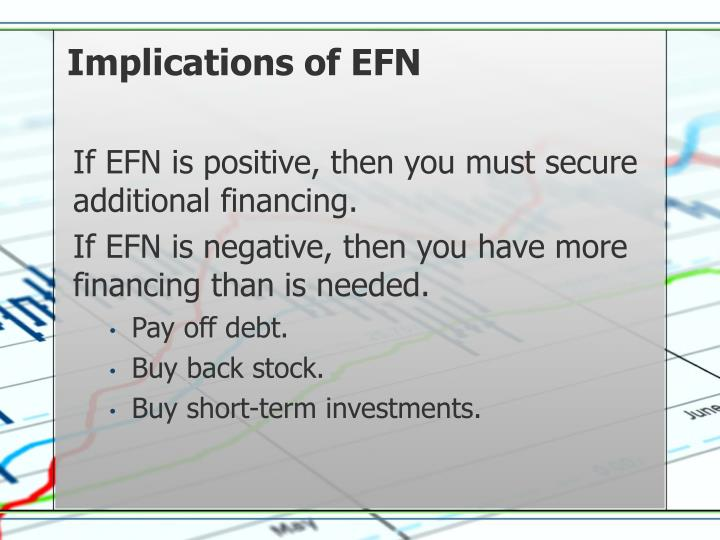 Implications of EFN