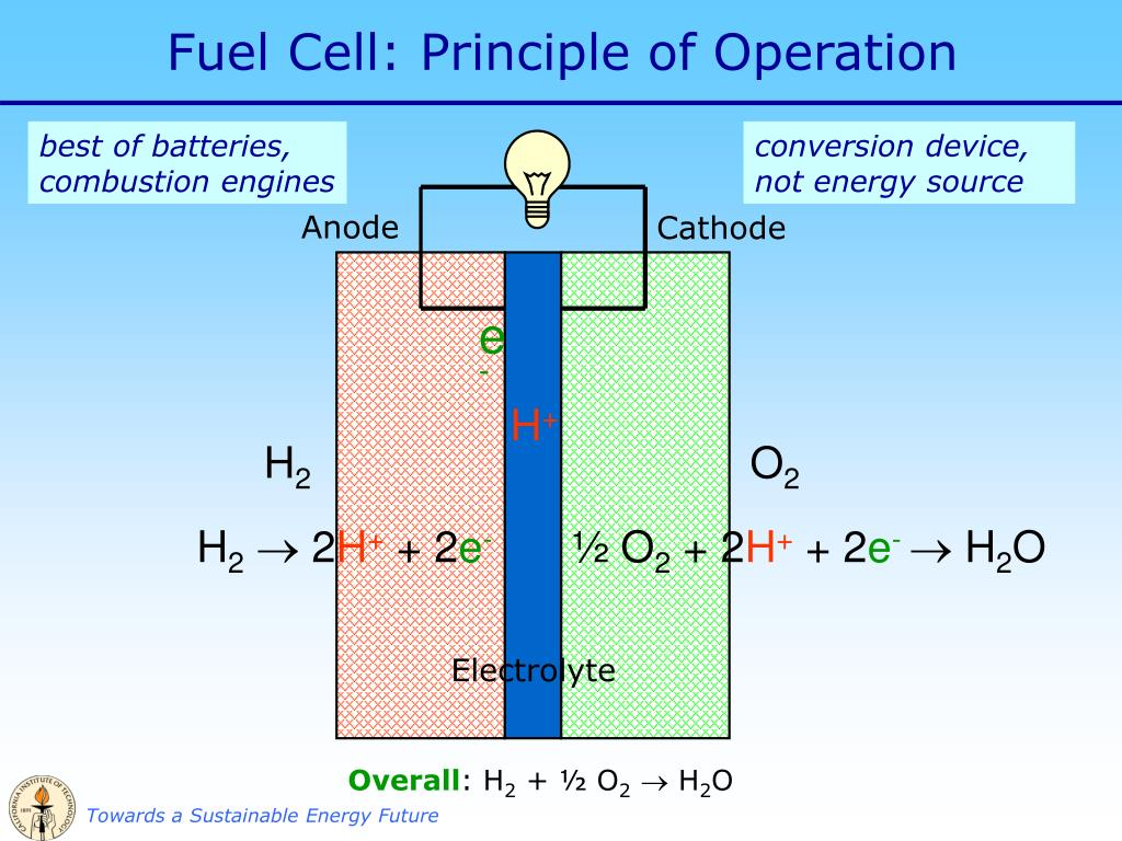 PPT - Fuel Cells for a Sustainable Energy Future PowerPoint