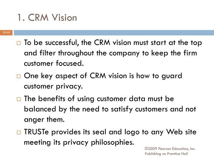 1. CRM Vision