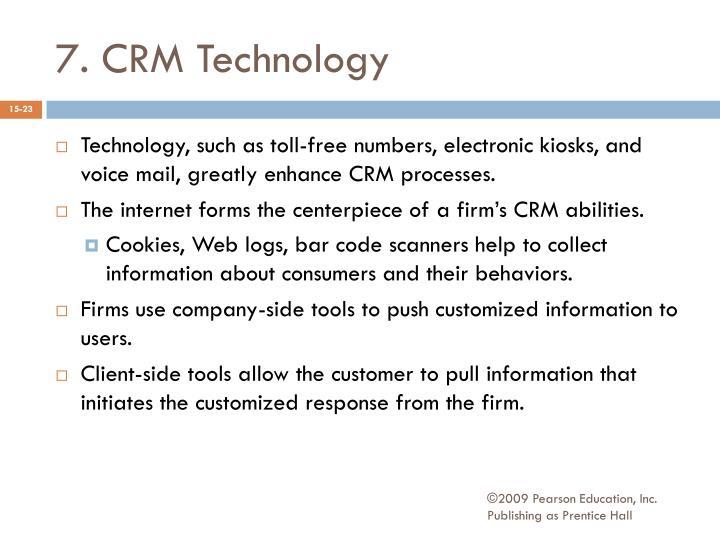 7. CRM Technology