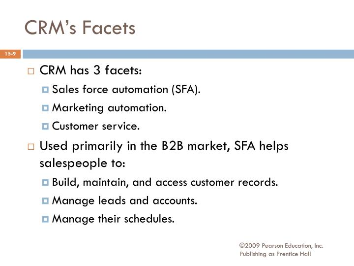 CRM's Facets