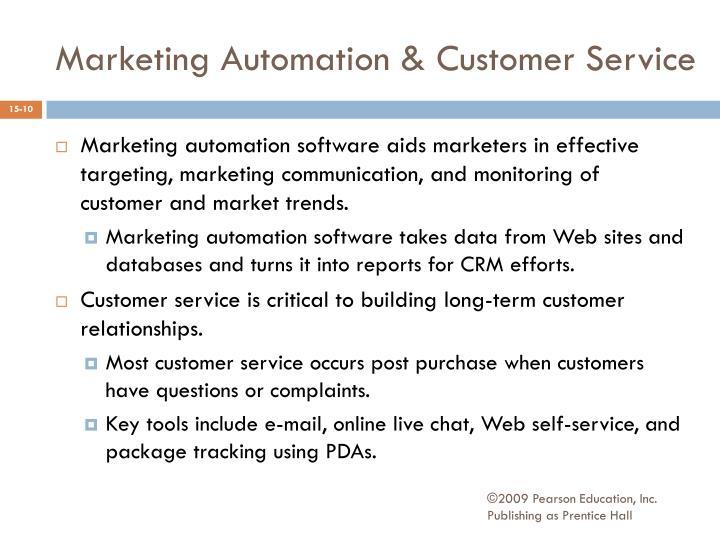 Marketing Automation & Customer Service