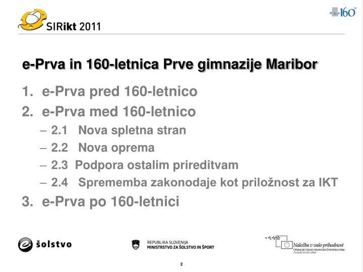 E prva in 160 letnica prve gimnazije maribor1
