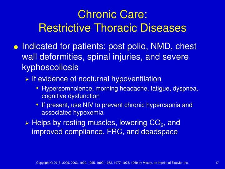 Chronic Care: