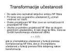 transformacije u estanosti