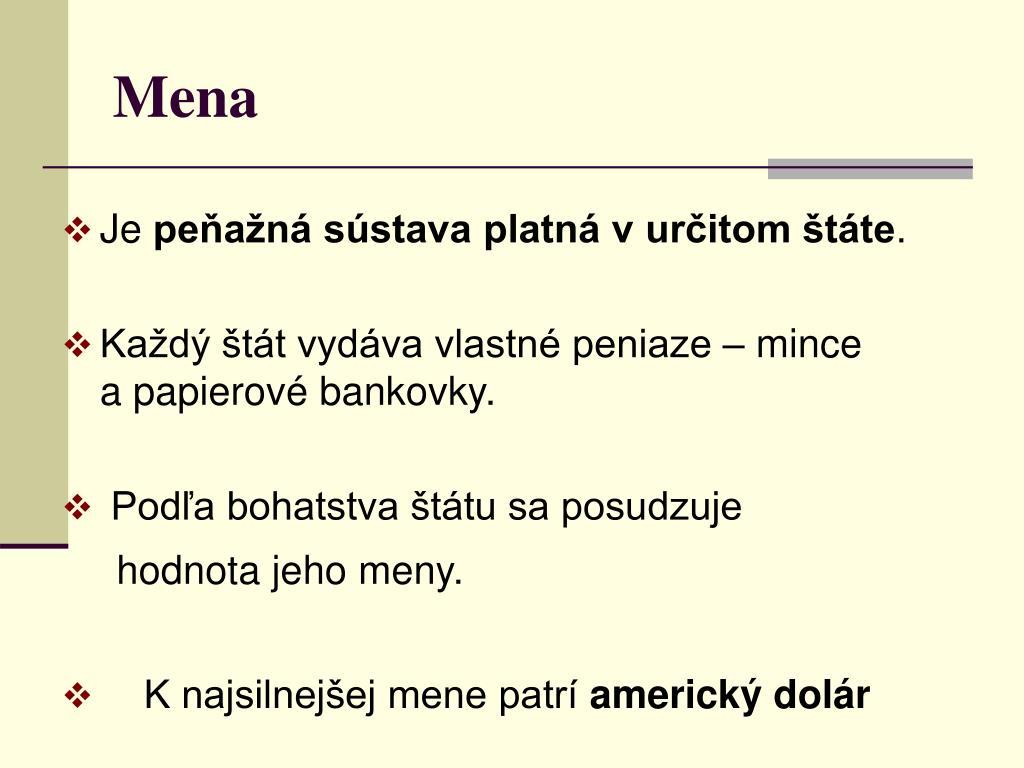Peniaze ppt - Termocolor