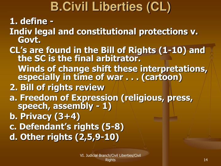 B.Civil Liberties (CL)
