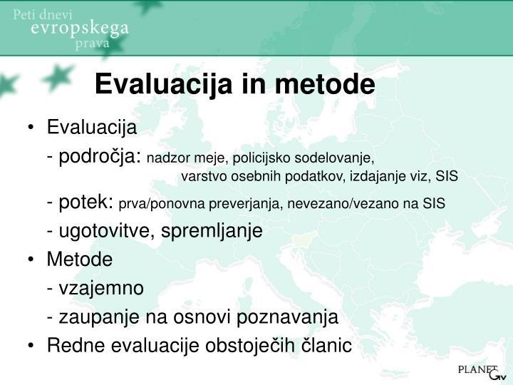 Evaluacija