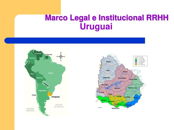 Marco legal e institucional rrhh uruguai