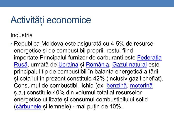 Activități economice