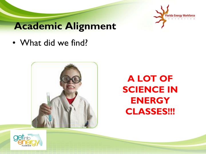 Academic Alignment