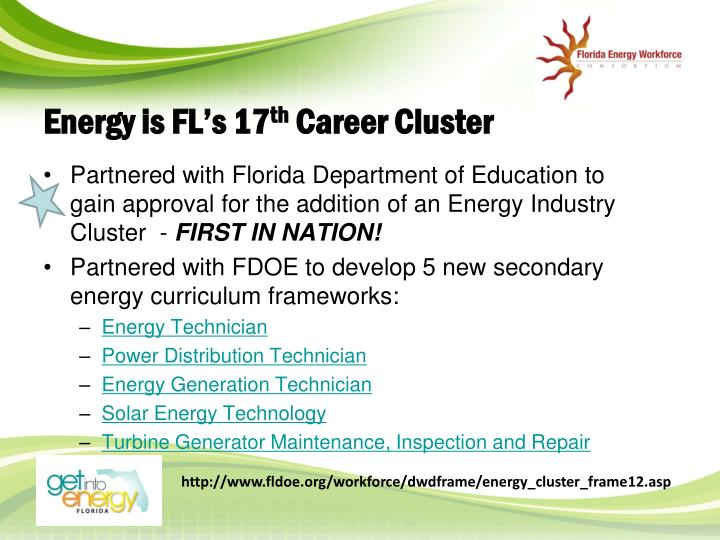 Energy is FL's 17