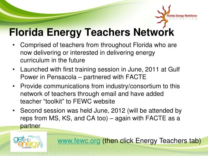 Florida Energy Teachers Network