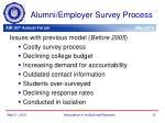 alumni employer survey process1