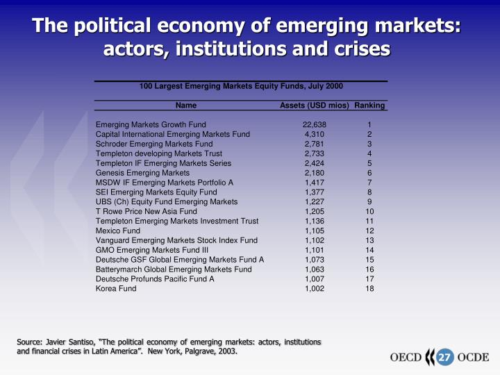emergence of global political economy An authoritative introduction to the development and character of the global political economy critically acclaimed in its previous editions.