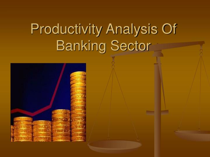 productivity analysis of banking sector n.