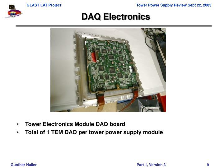 DAQ Electronics