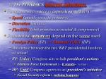 2 the president s inherent advantages