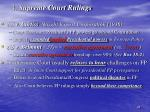 4 supreme court rulings