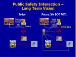 public safety interaction long term vision2