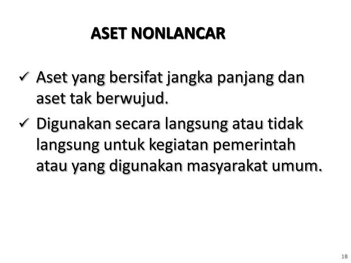 ASET NONLANCAR
