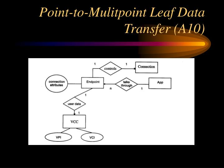 Point-to-Mulitpoint Leaf Data Transfer (A10)