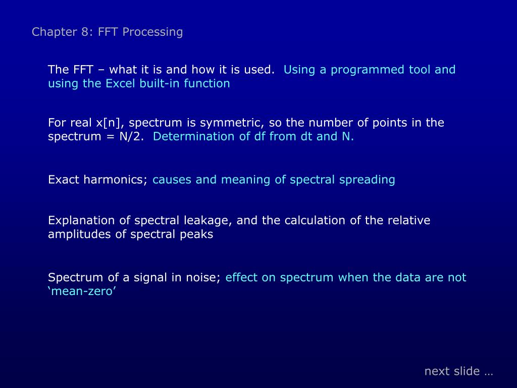 PPT - 20-6554: Digital Signal Processing PowerPoint