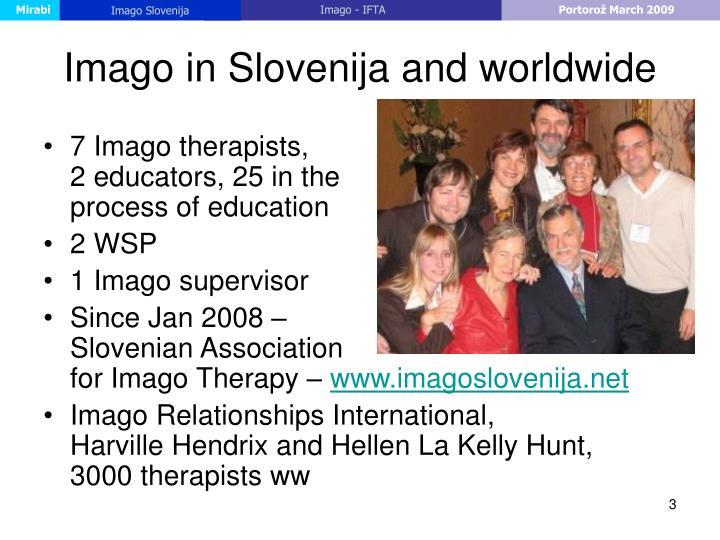 Imago in slovenija and worldwide