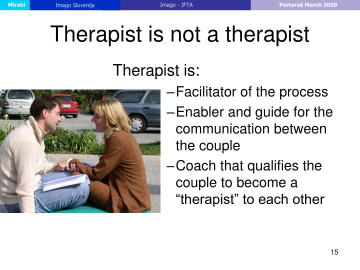 Therapist is not a therapist