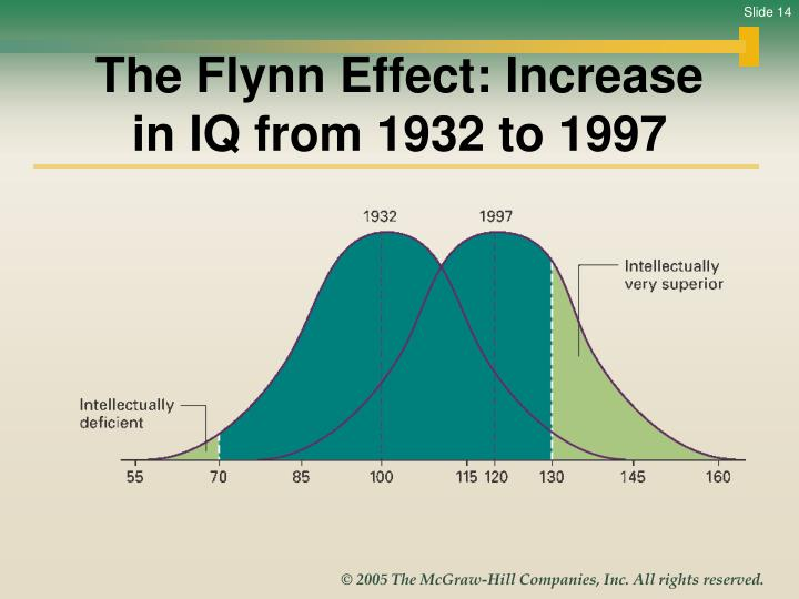 flynn effect Significance using administrative register data with information on family relationships and cognitive ability for three decades of norwegian male birth cohorts, we show that the increase, turning point, and decline of the flynn effect can be recovered from within-family variation in intelligence scores.