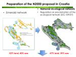 preparation of the n2000 proposal in croatia2