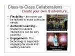 class to class collaborations