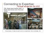 connecting to expertise
