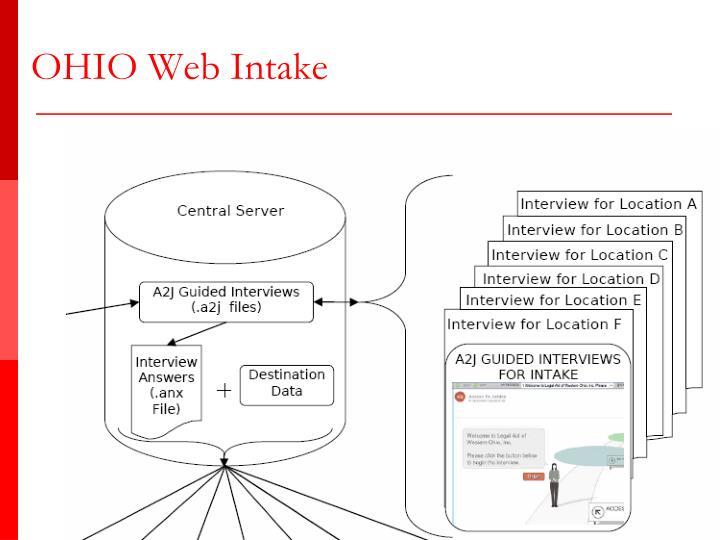 OHIO Web Intake