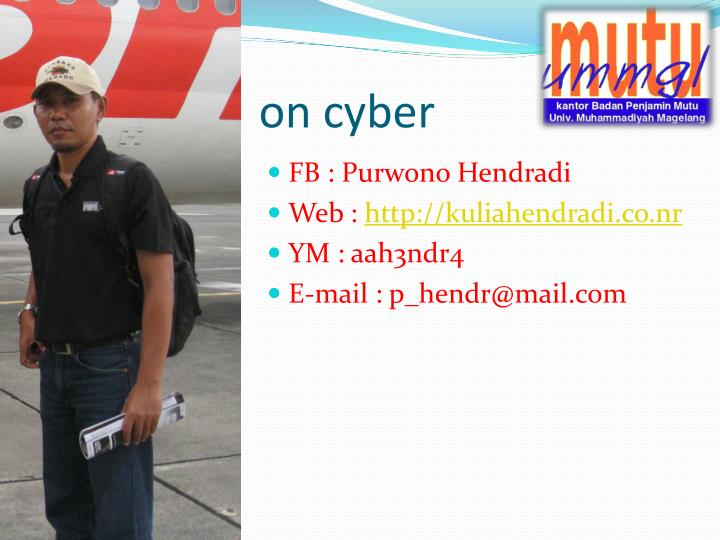 on cyber
