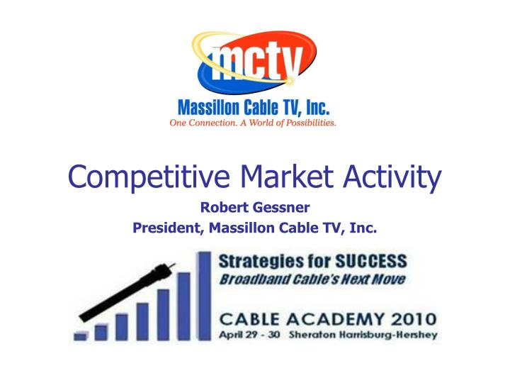 competitive market activity n.