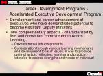 career development programs accelerated executive development program