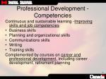 professional development competencies