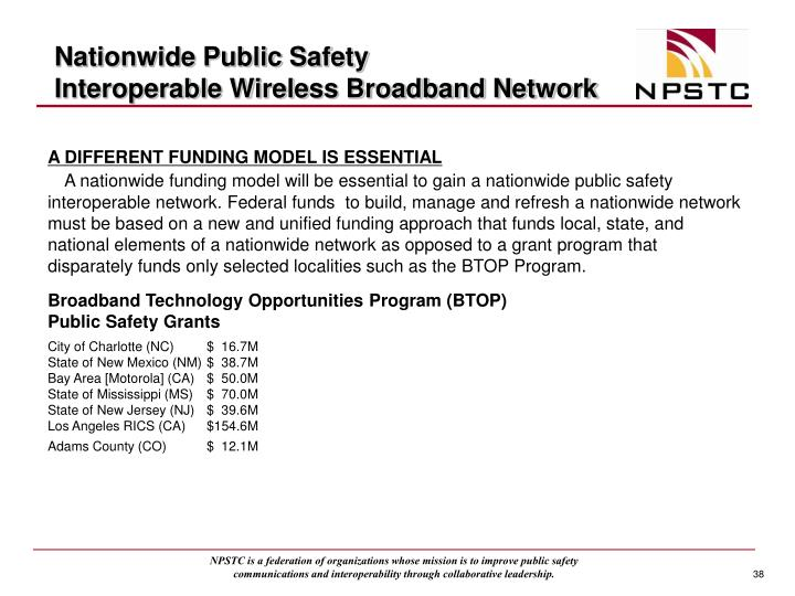 Nationwide Public Safety