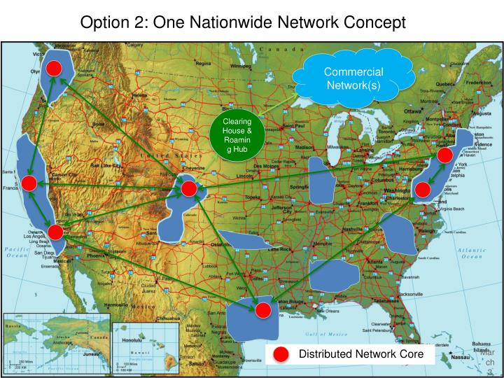Option 2: One Nationwide Network Concept