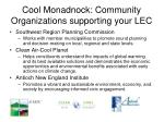 cool monadnock community organizations supporting your lec