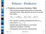 policies predictive1