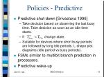 policies predictive2