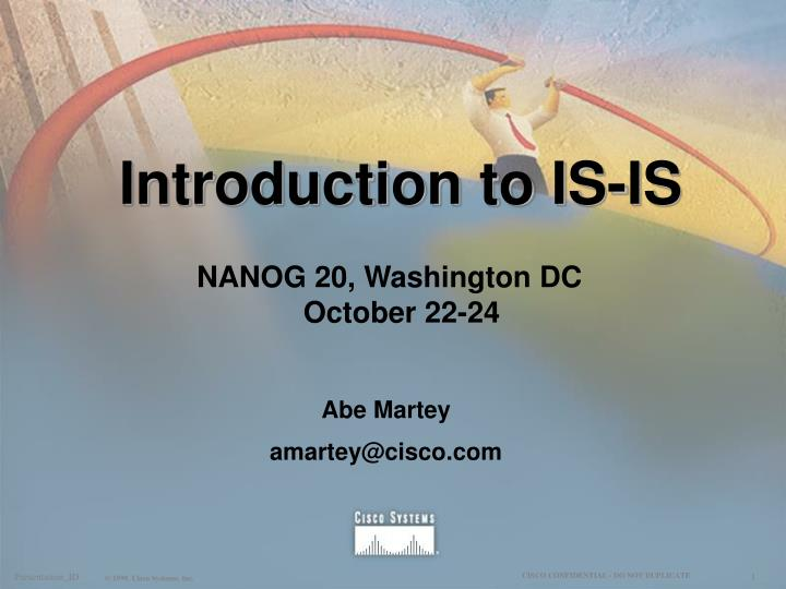 Introduction to is is