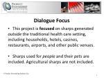 dialogue focus