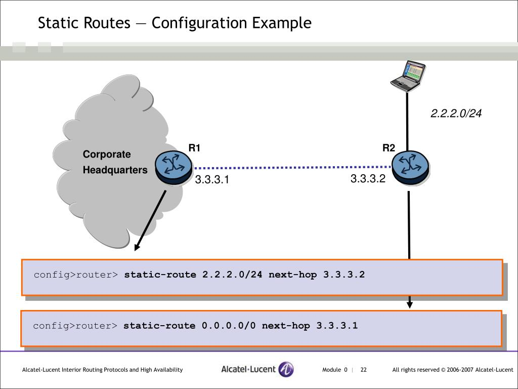 PPT - Alcatel-Lucent Routing Protocols PowerPoint Presentation - ID